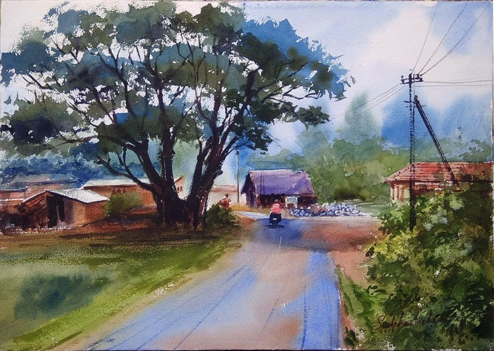 Rural India Painting 1