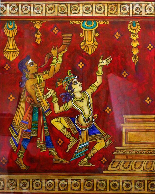 Indian Folk Artist