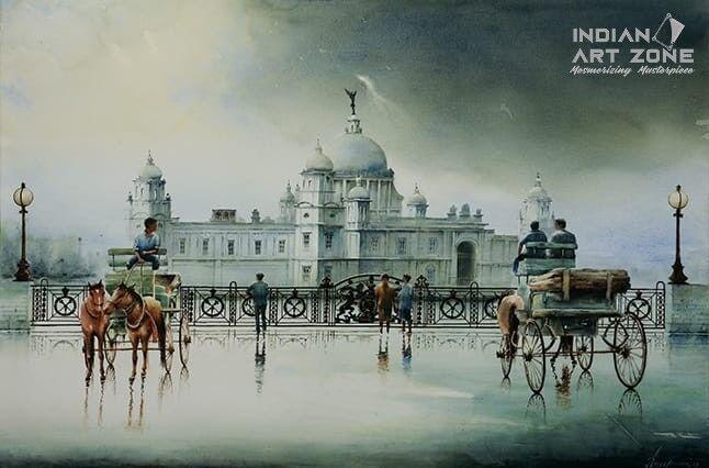 A Cloudy day in Kolkata