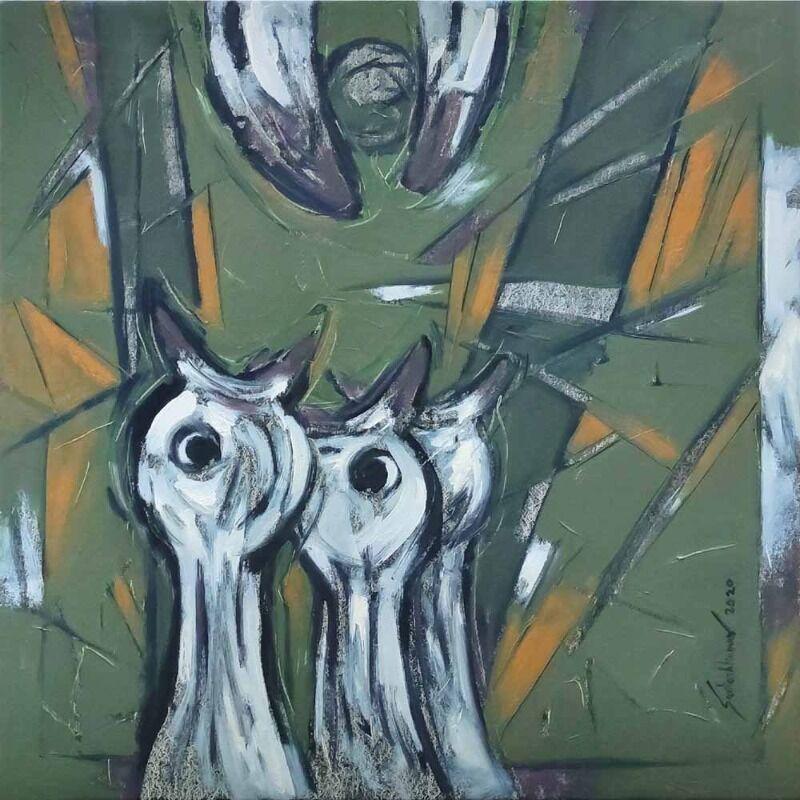Abstract bird s 4