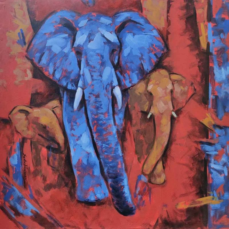 Abstract elephant s 2