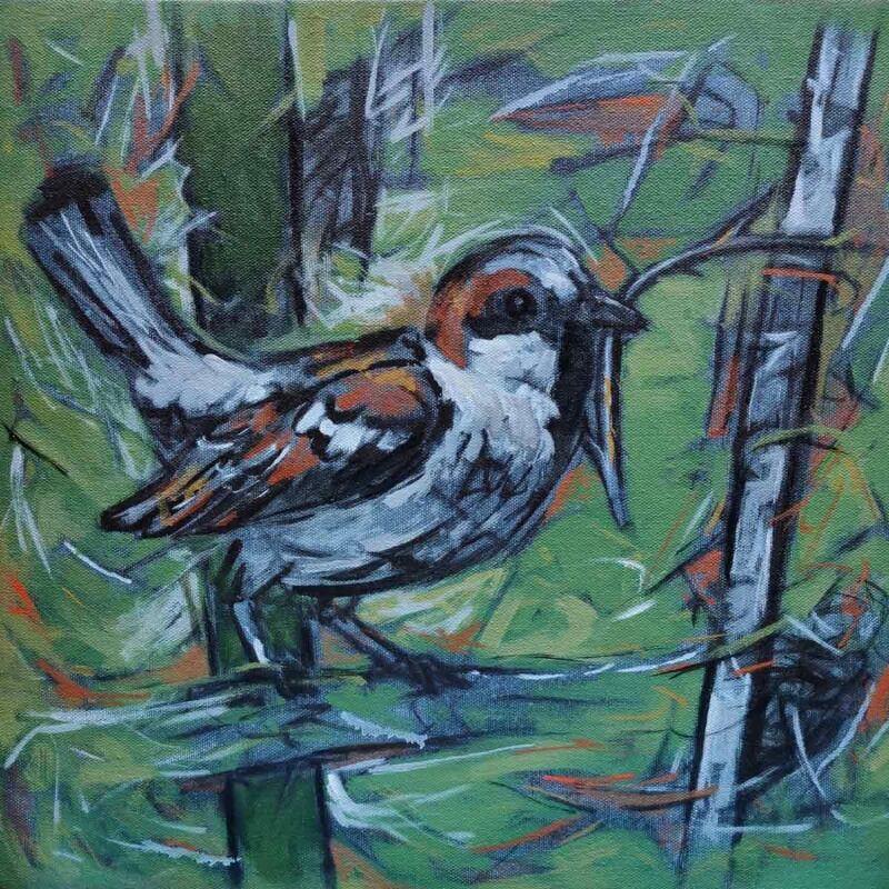 Abstract bird s 5