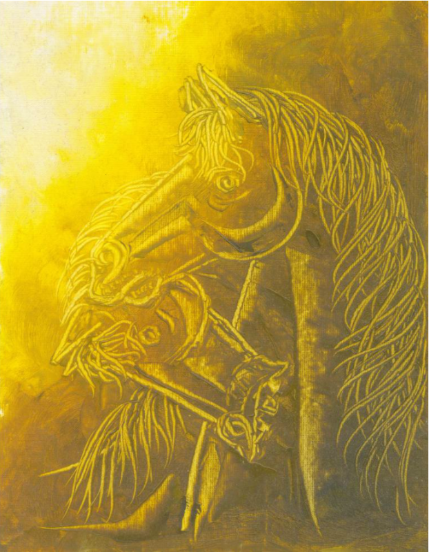 Contemporary Horse painting 1