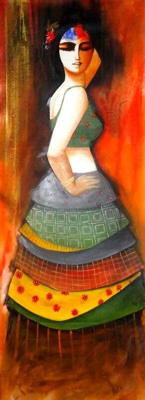 THE DANCING GIRL