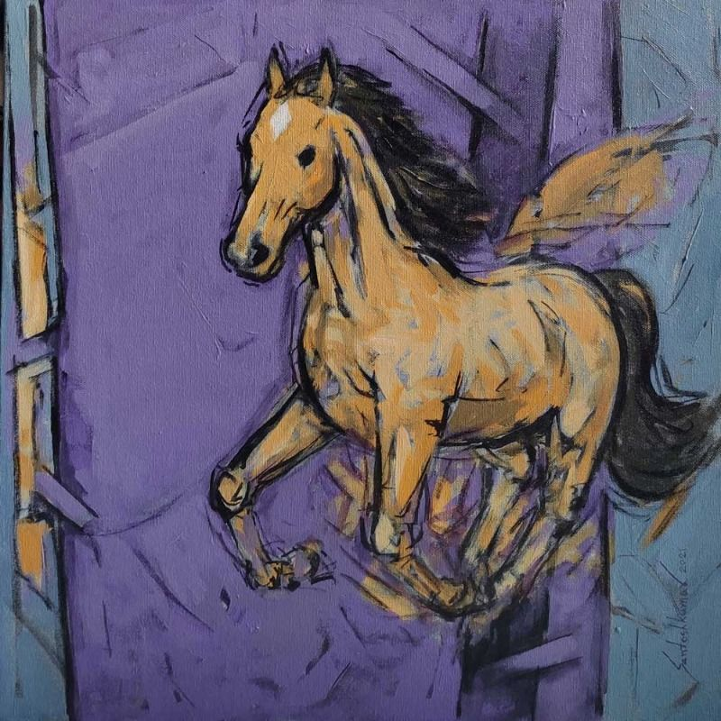Abstract horse s 4