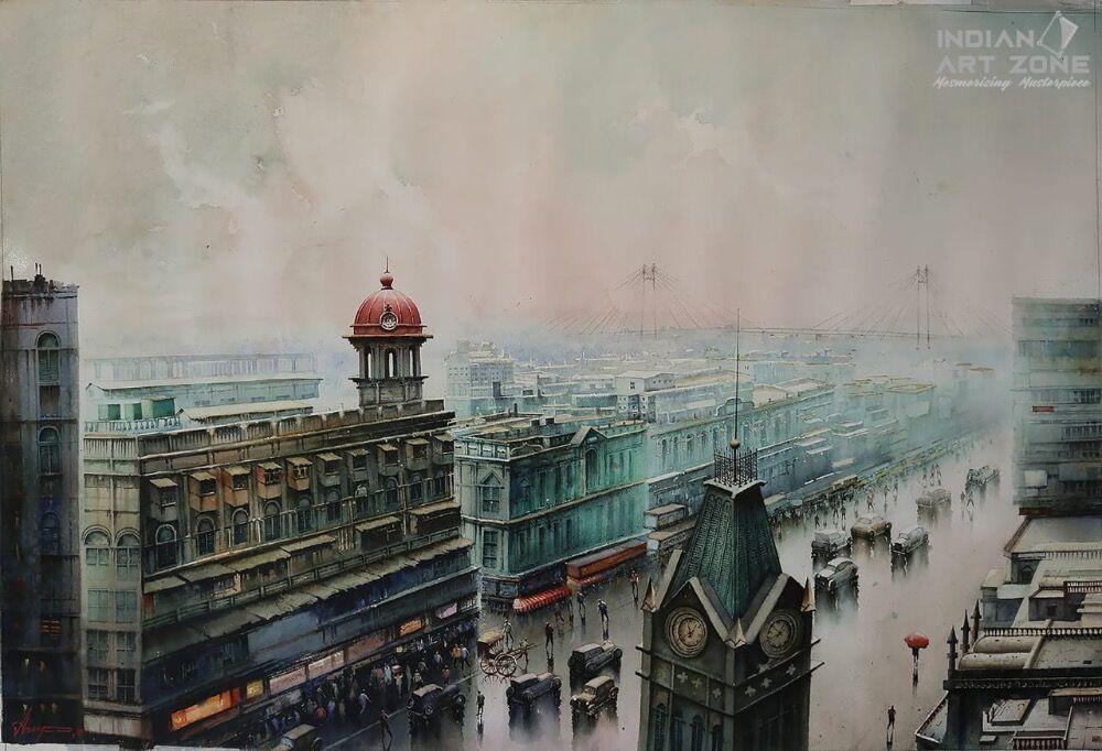 Wet Morning in Kolkata