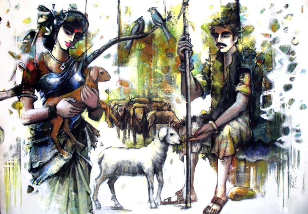 Shepherd couple