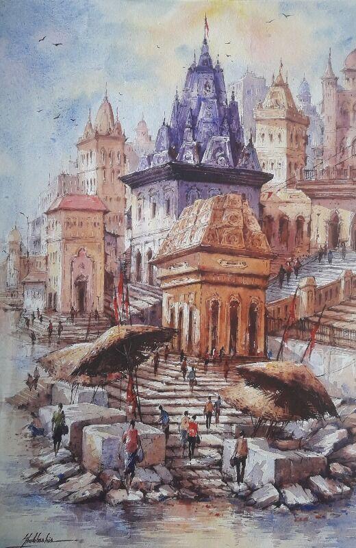 Benaras ghat-4