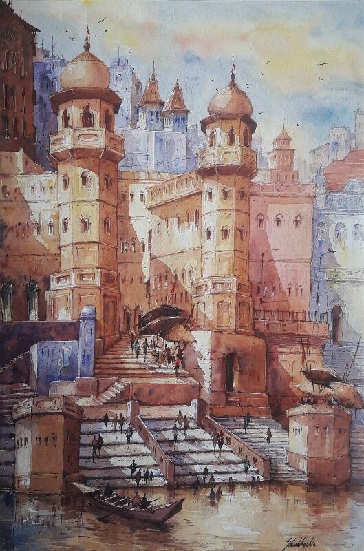 Benaras ghat-2