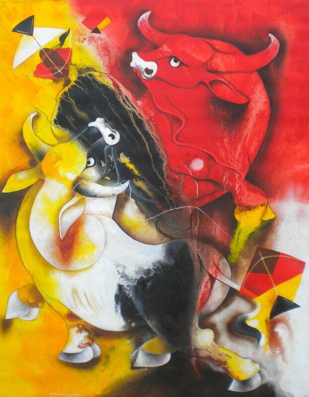 bull and kite