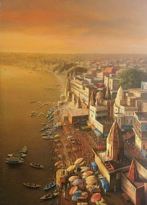 The Landscape of Varanasi