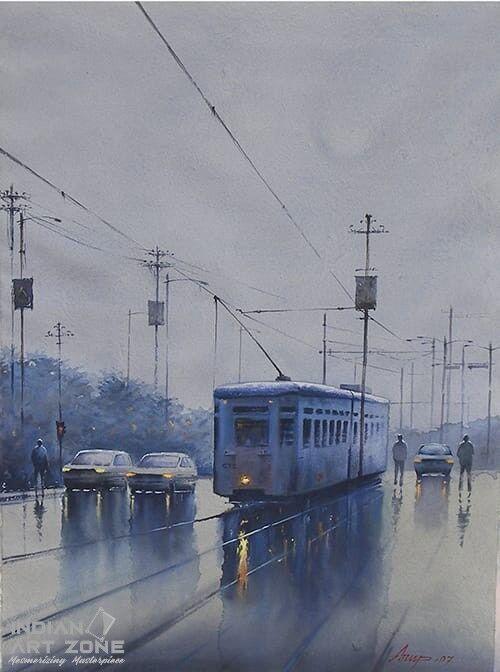 A Wet Morning in Kolkata