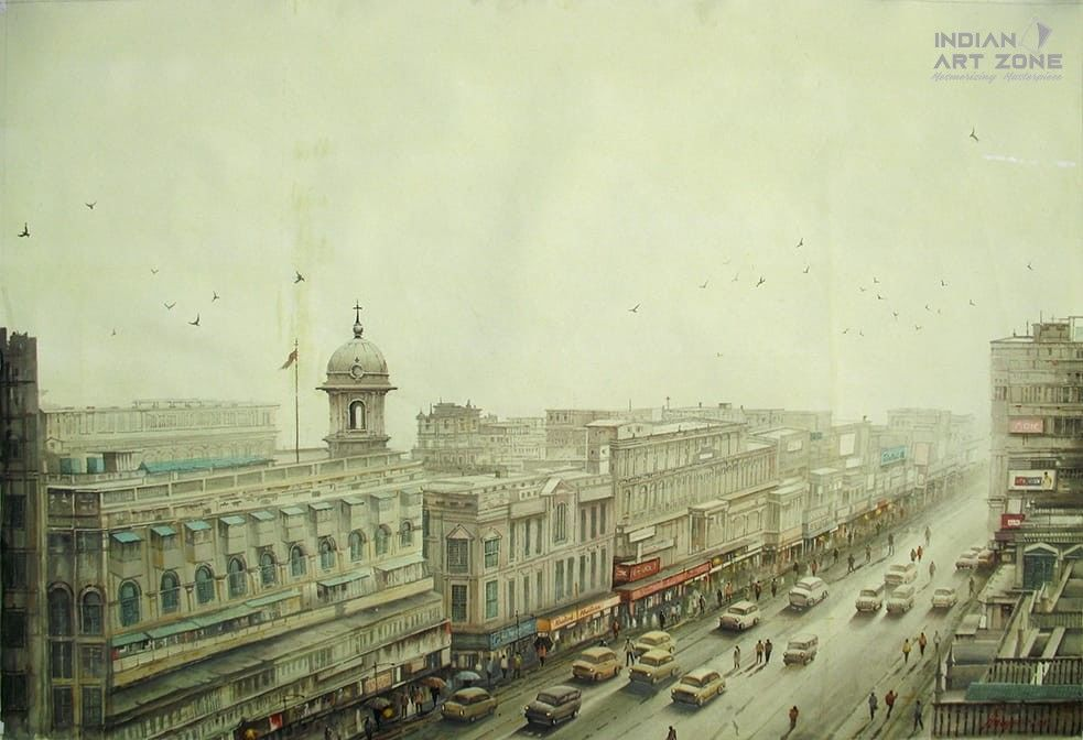 From 8th floor in Kolkata