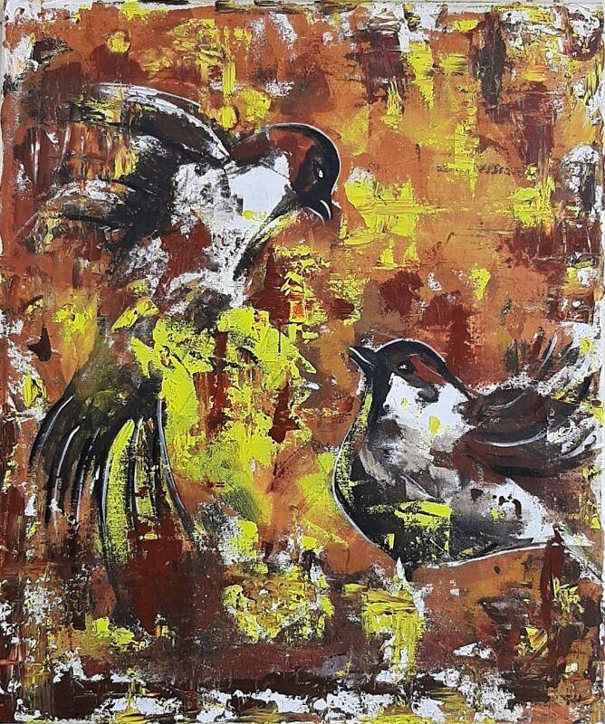 Bird abstract 91
