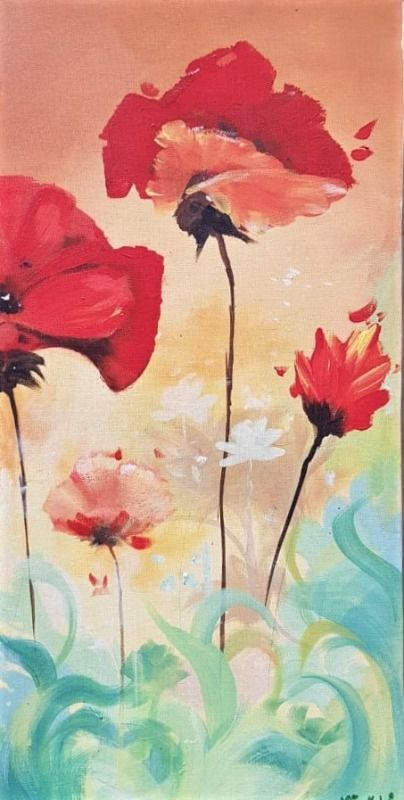 floral abstract 88