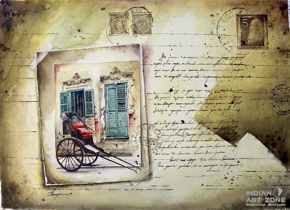 A Faded Manuscript Within Reality