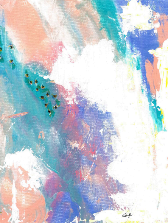 Abstract V series 9