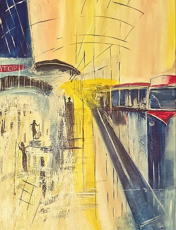 Life at a metro