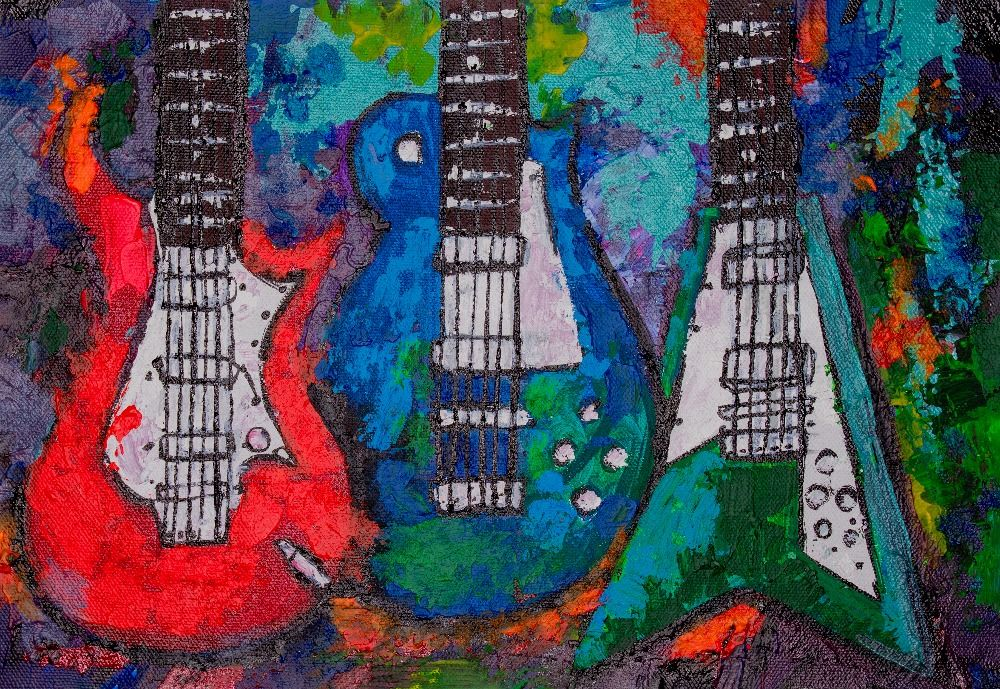 Abstract Guitar 1