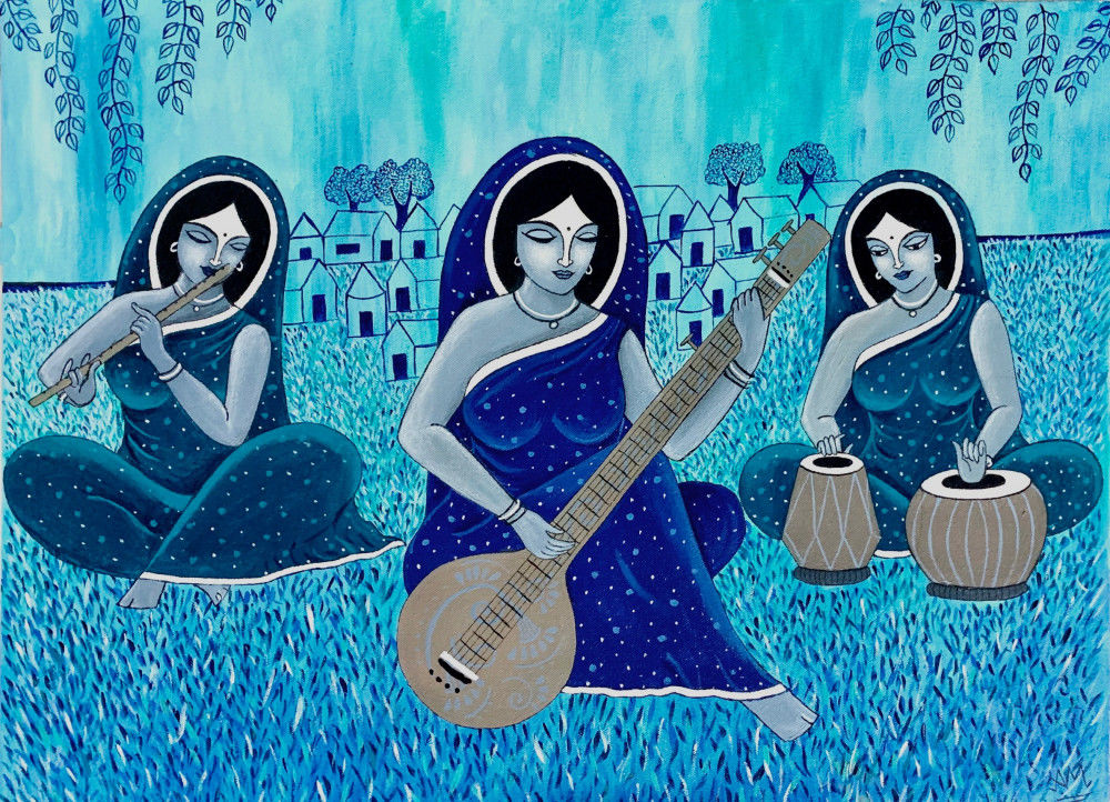 The three indian musicians