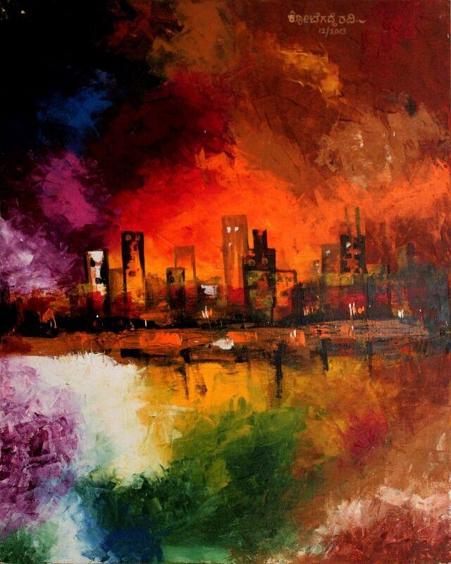 Burnt city