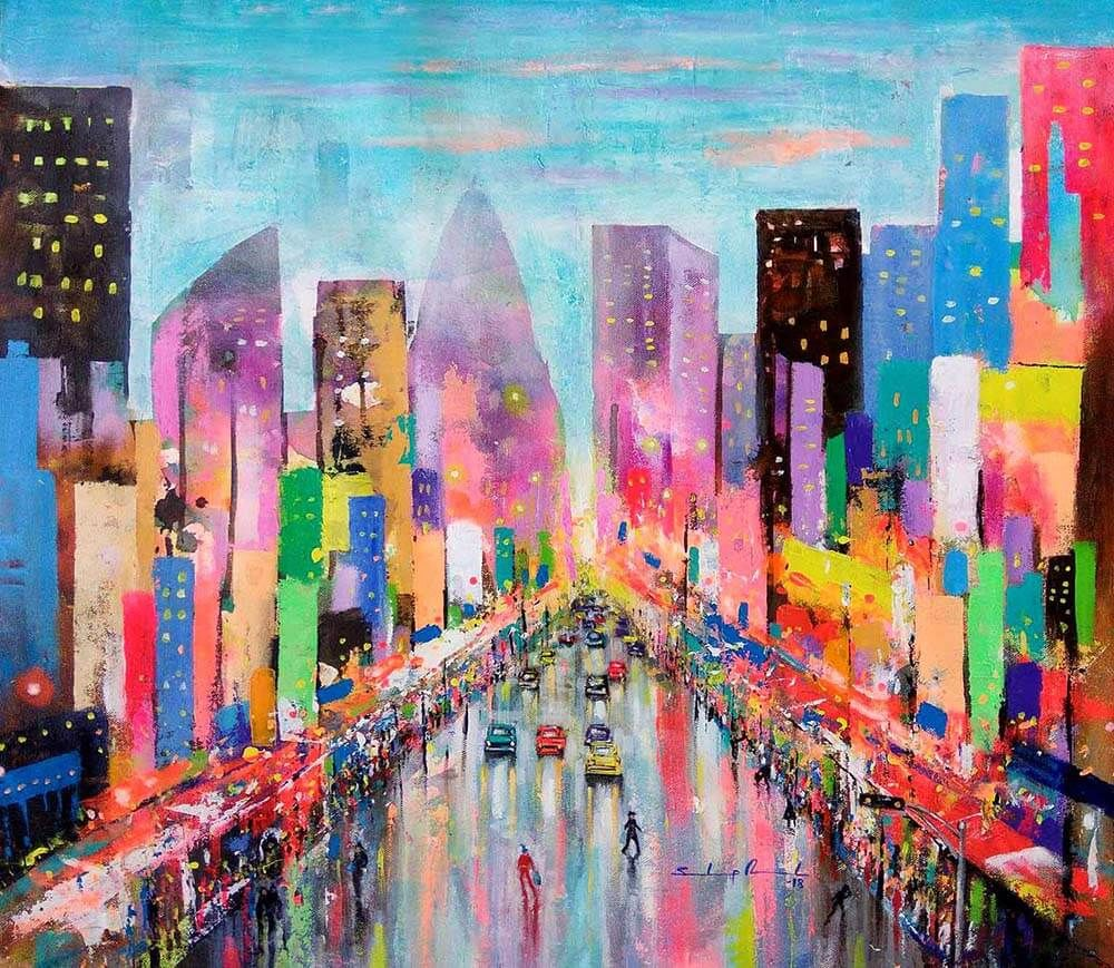 Colorful City of Joy
