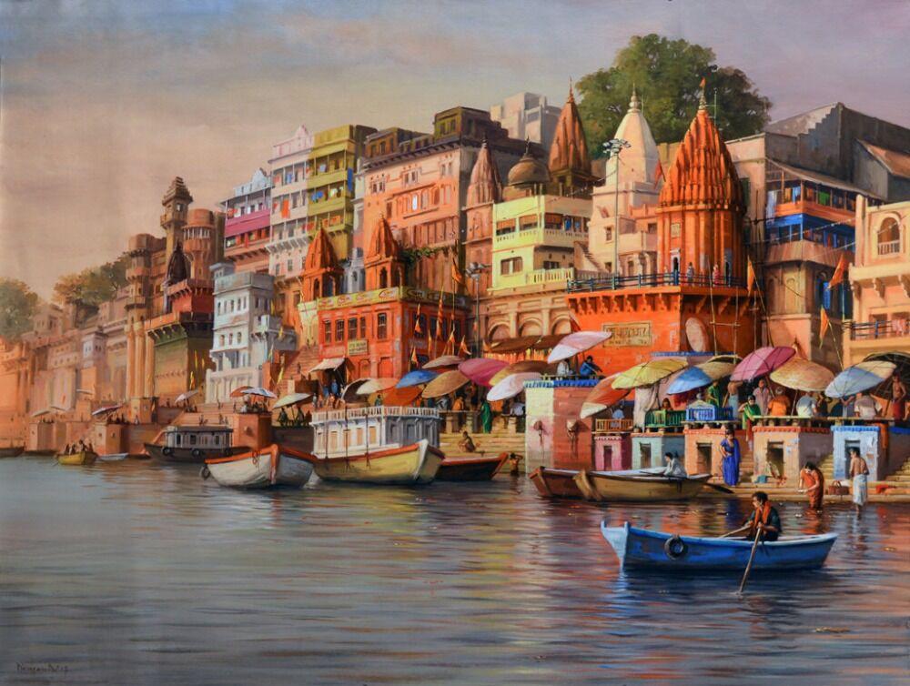 The Landscape of Varanasi 2