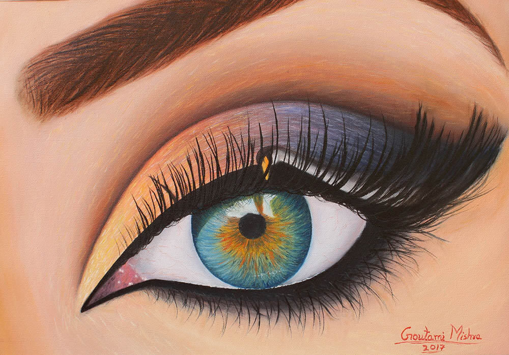 Eye of Eos - The Goddess of dawn