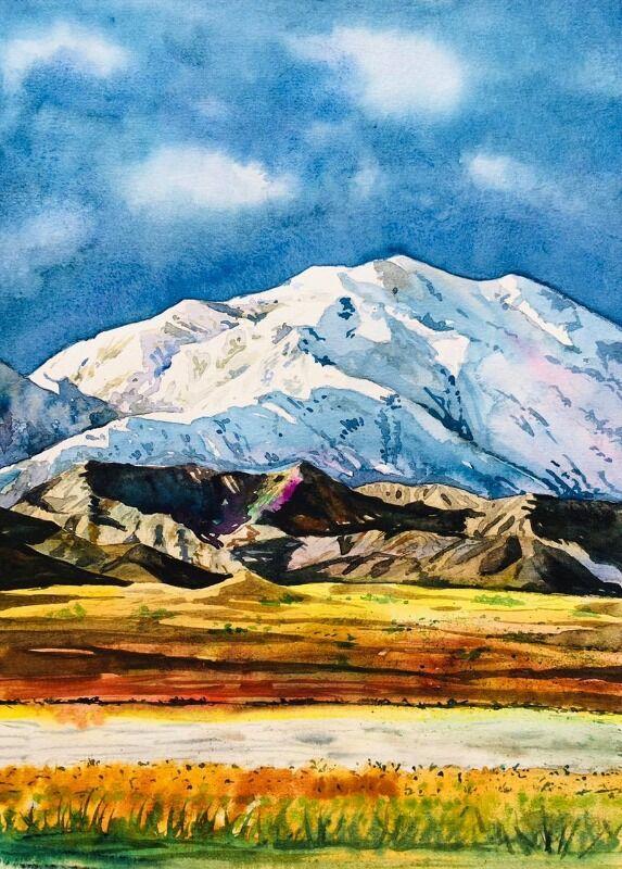 watercolor nature 1