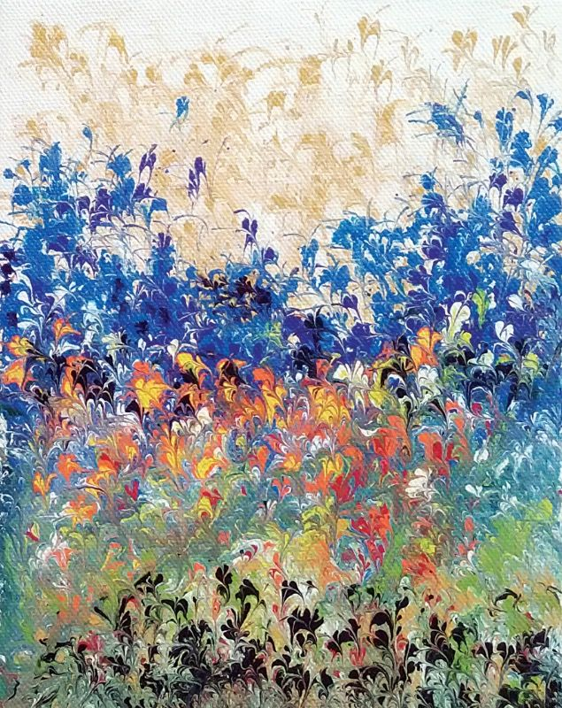 Flowers Painting 2