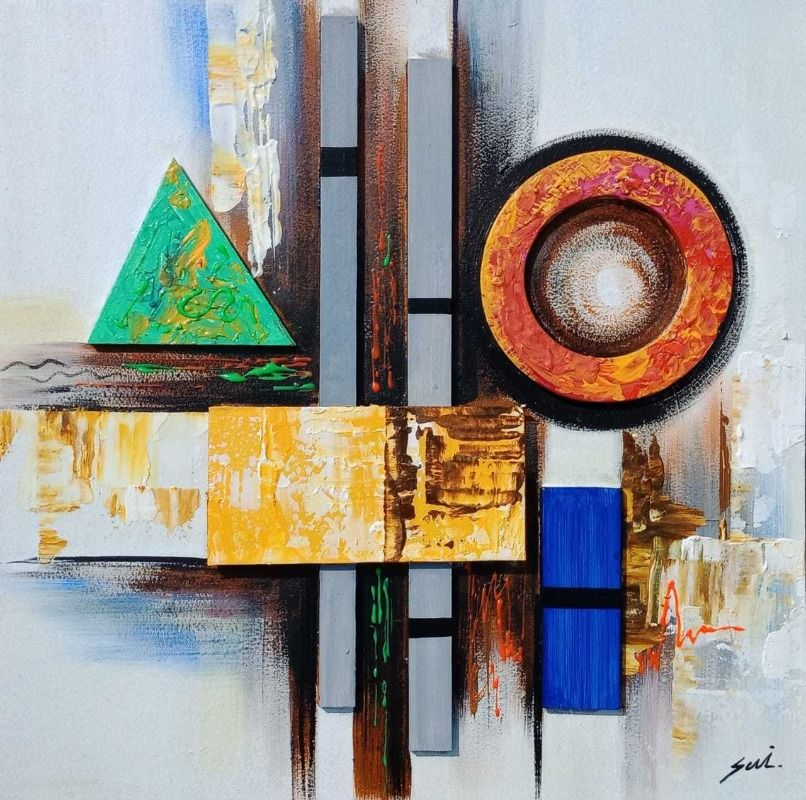 Geometric Abstract Art 10