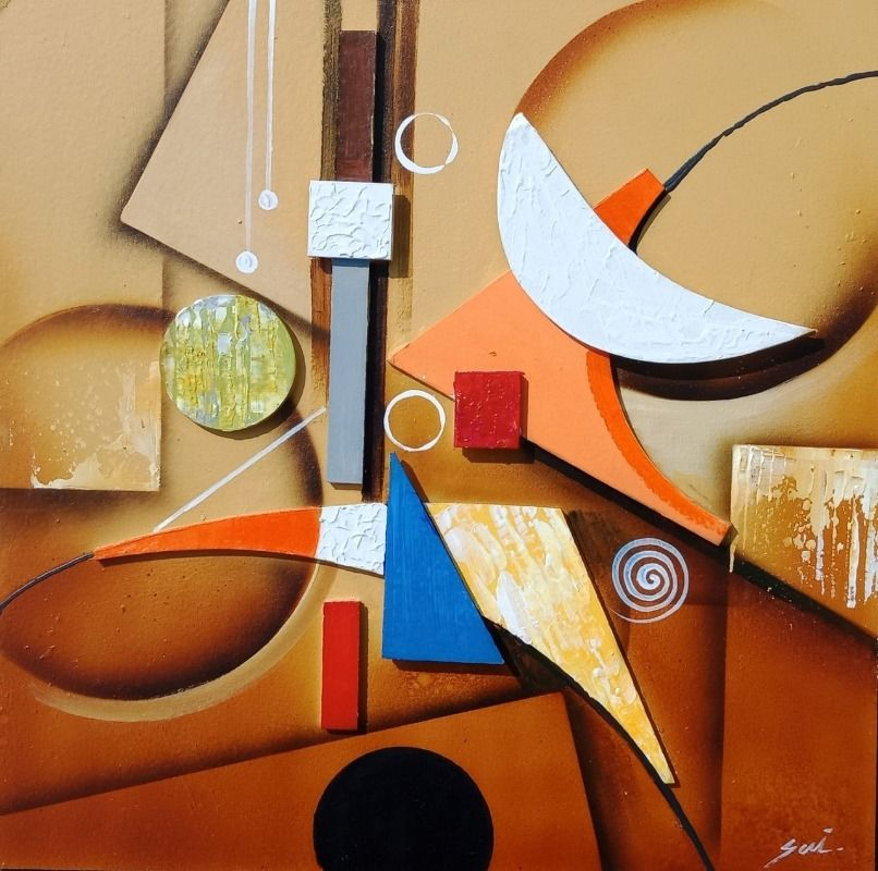 Geometric Abstract Art 2
