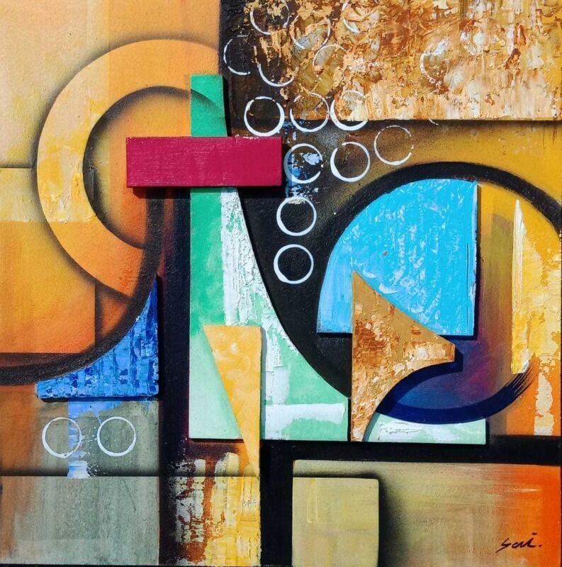 Geometric Abstract Art 7