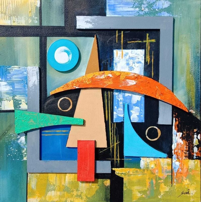 Geometric Abstract Art 8