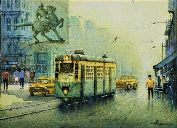 A Sunny morning in Kolkata