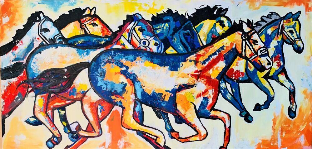 running horses 001