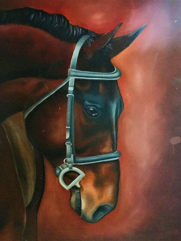 Chestnut horse 01