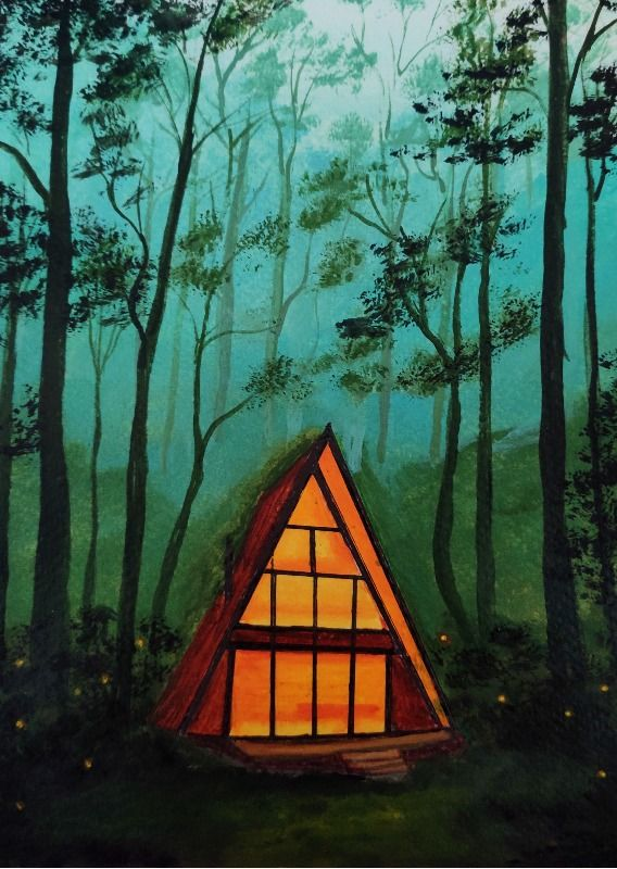 Cabin in the forest