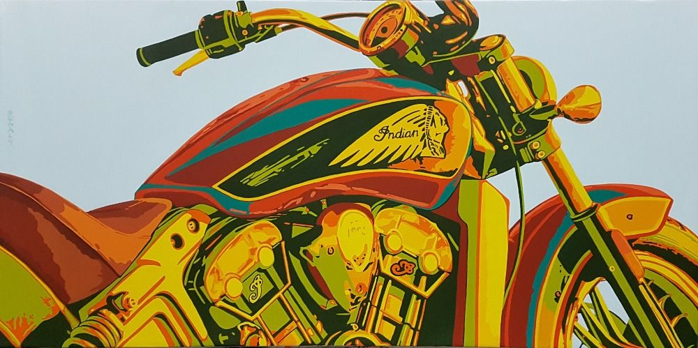 Classic Motorcycle - Indian
