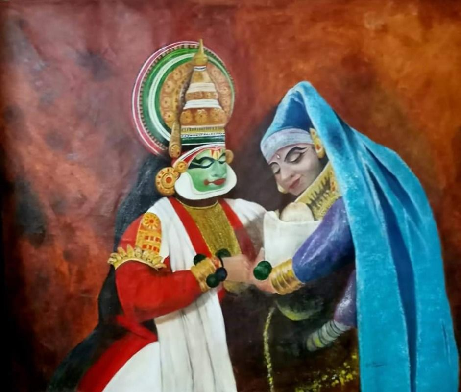 kathakali couple