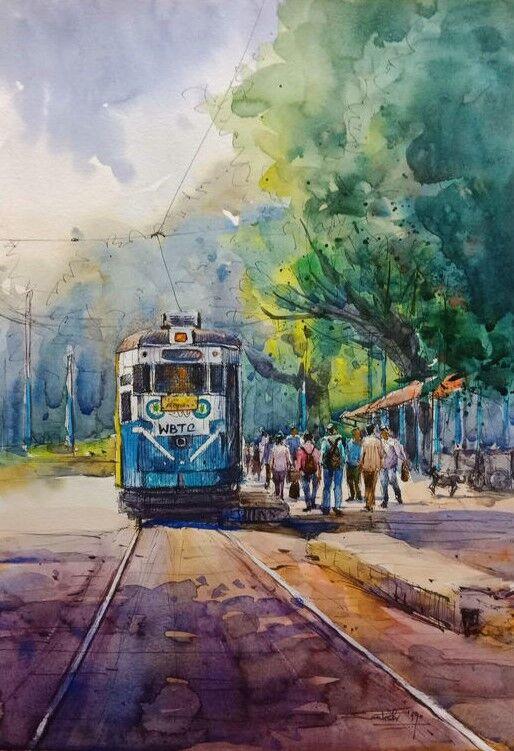 Kolkata Cityscape 1