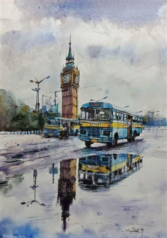 Kolkata Cityscape 2