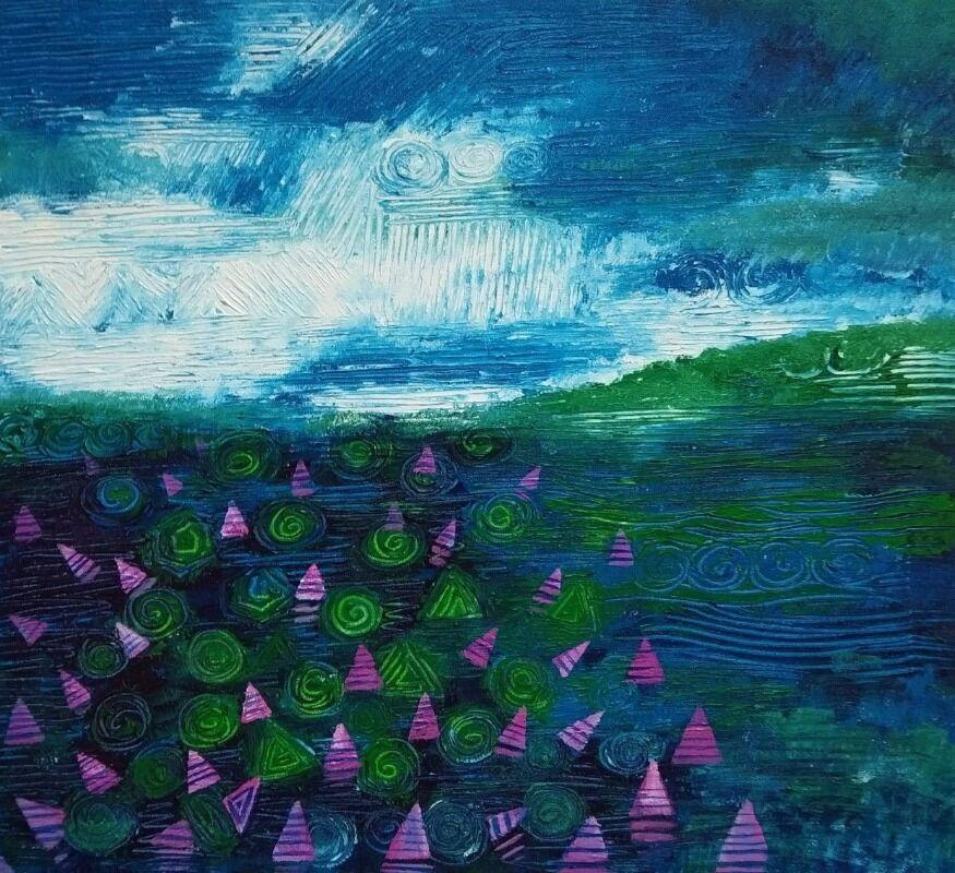 lavender scape 3
