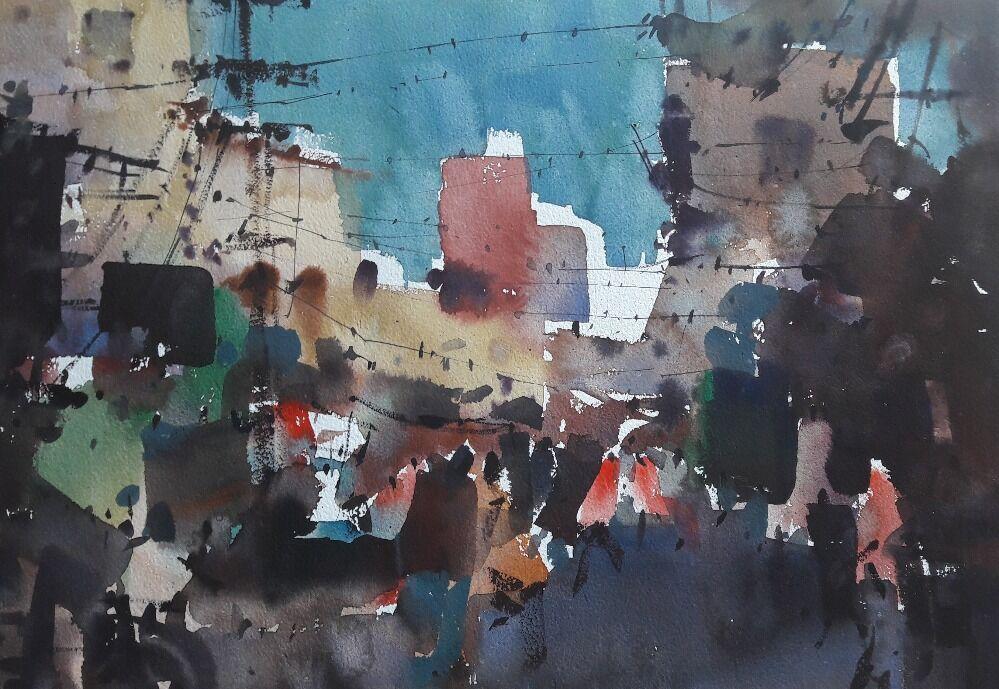 landscape watercolor 12
