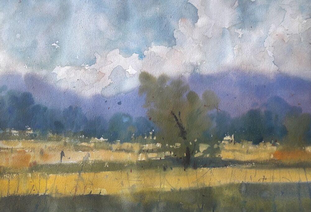 landscape watercolor 6