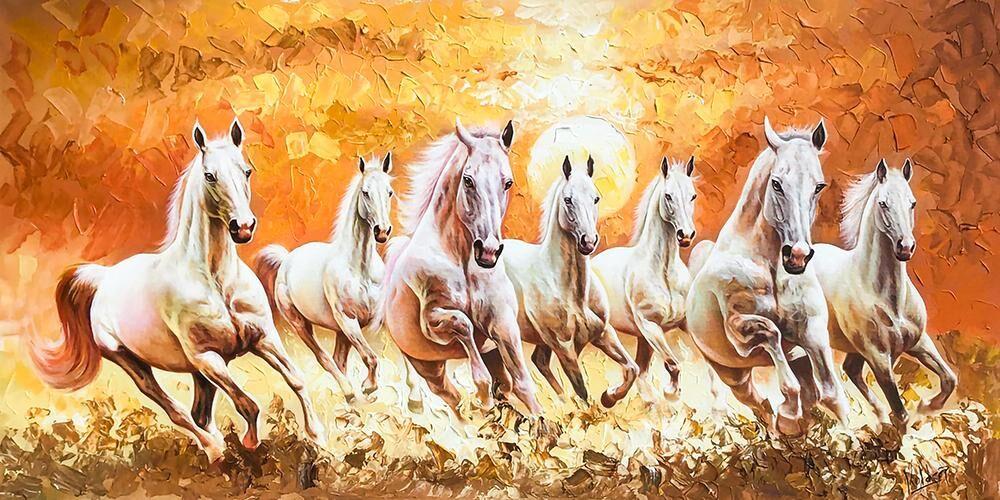Liberated Seven Horses