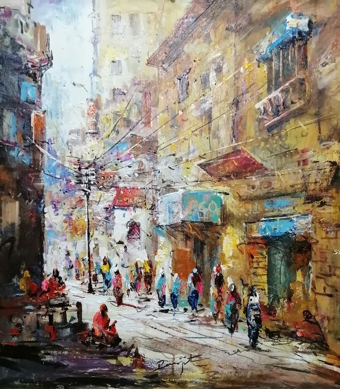 Light on street