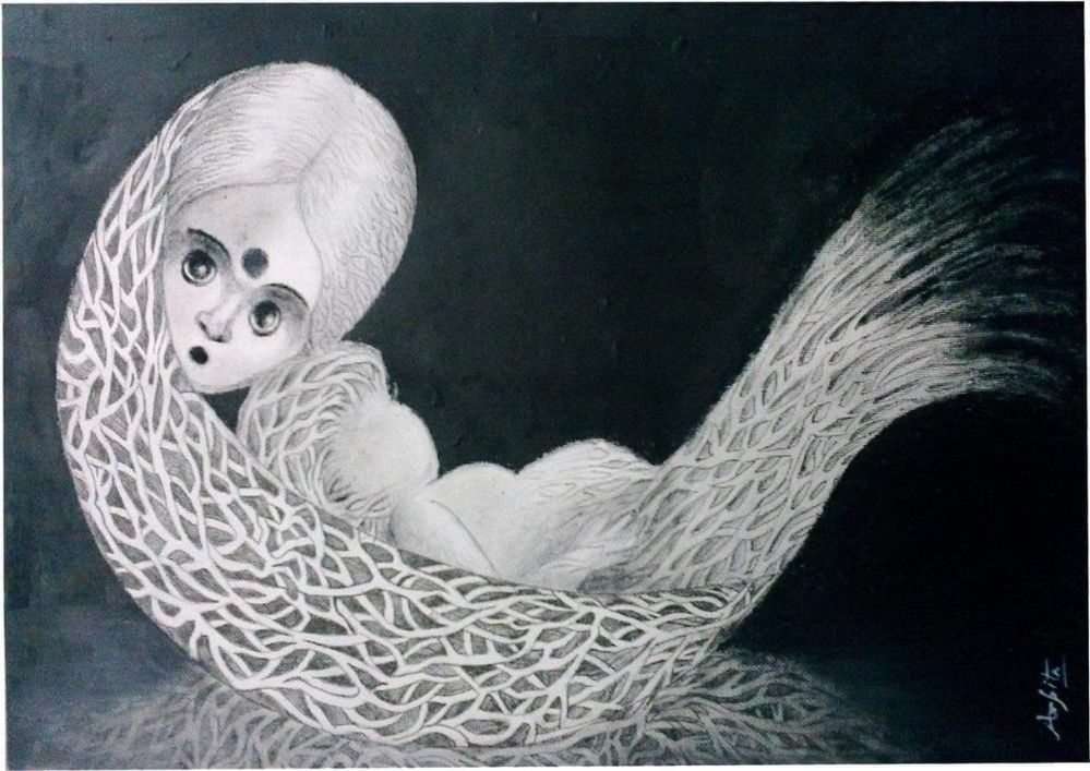 mermaid with baby 1