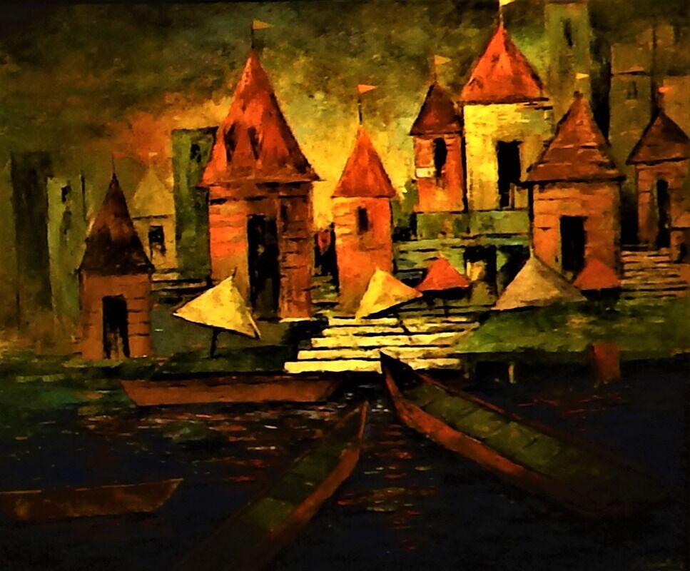 Banaras Abstraction 13
