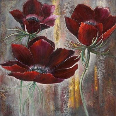 Red Velvet Poppies